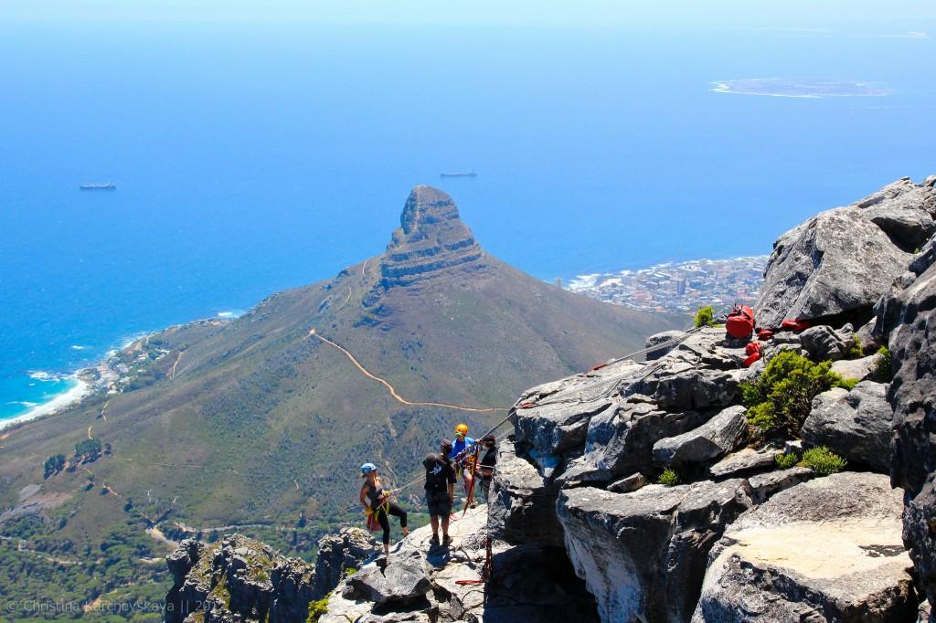 Афрыка [8]: Касмічны ландшафт Кейптаўна і Сталовая гара