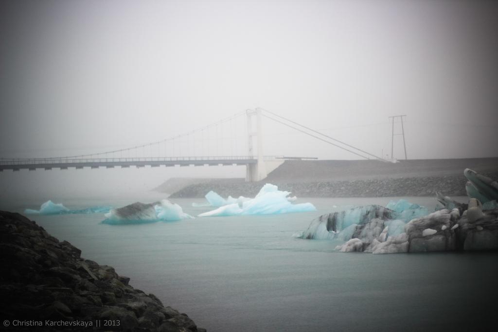 Исландия [8]: День 2, часть 2. Национальный парк Скафтафетль. Ледник!