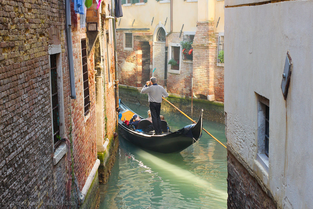Венеция: тишина, вода и солнце