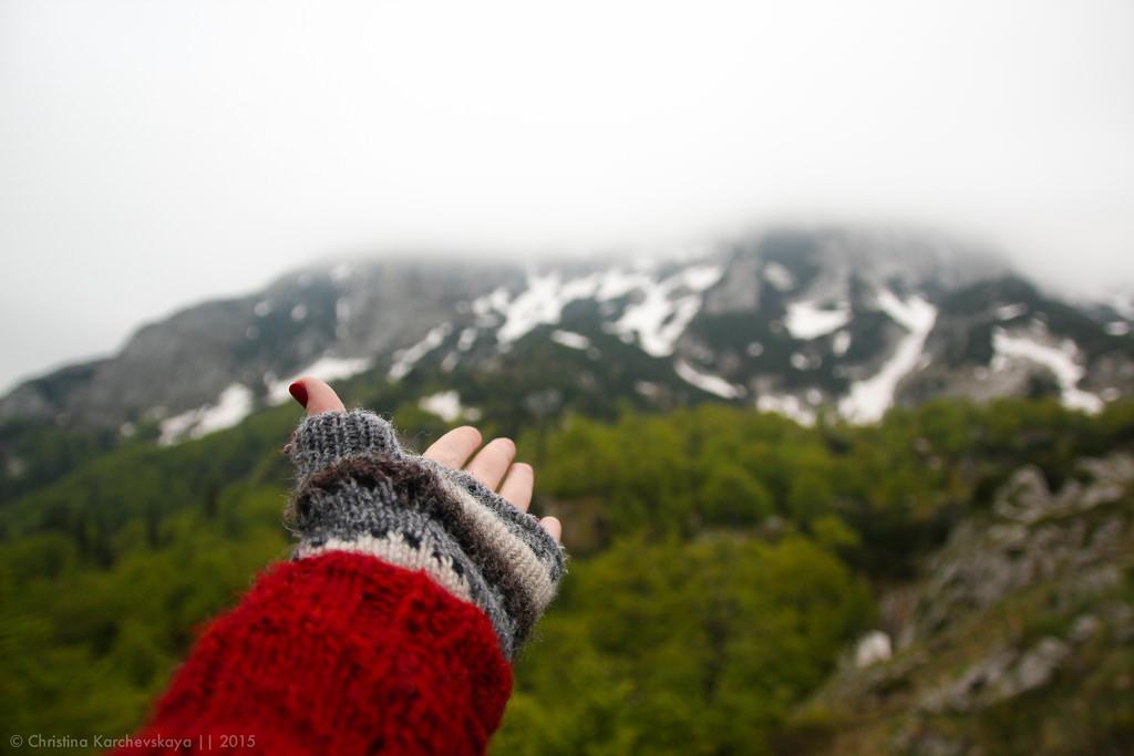 Balkans [5]: Первый день в горах. +4˚С и снег!
