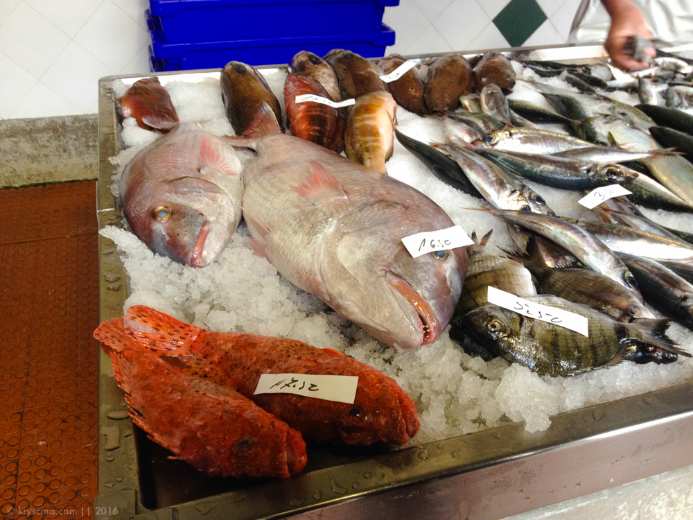 азоры острова еда португалия рыбный рынок фрукты
