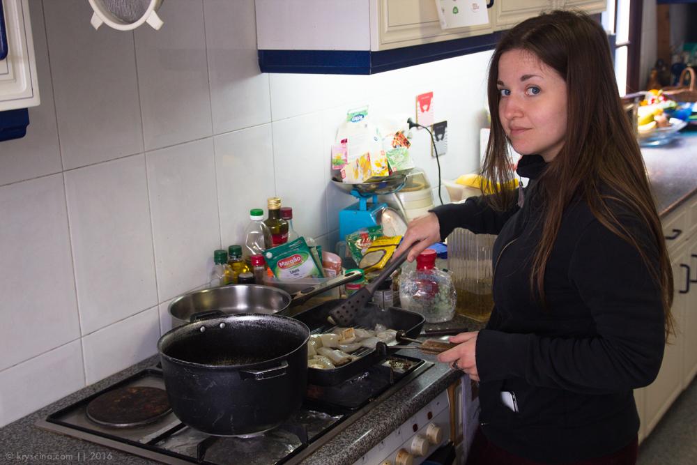 Португалия [11]: Наш быт и еда на Азорах