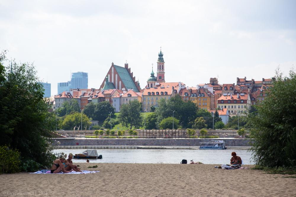 жизнь в польше жизнь за границей польша висла пляж