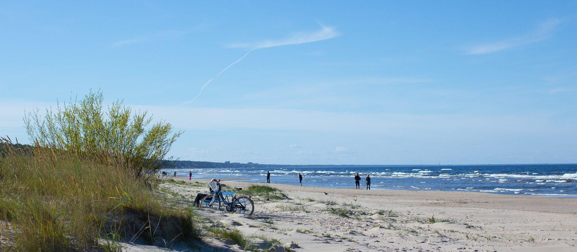 латвия, море, балтика, юрмала, путешествие
