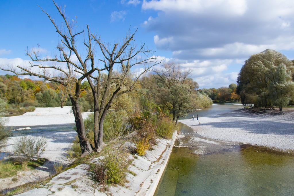 Autumn Trip: сказочная река Исар в Мюнхене