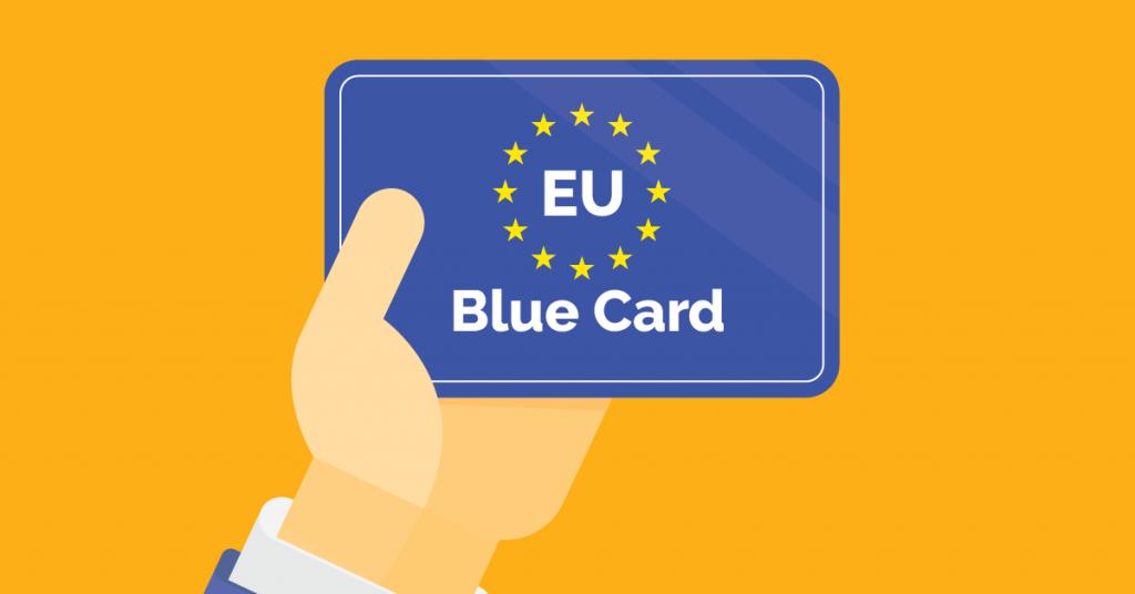 Как я получила Blue Card