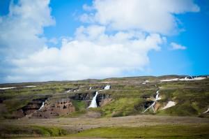 поля лавы в Исландии
