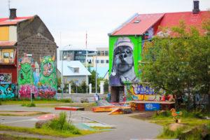 Рейкьявик граффити