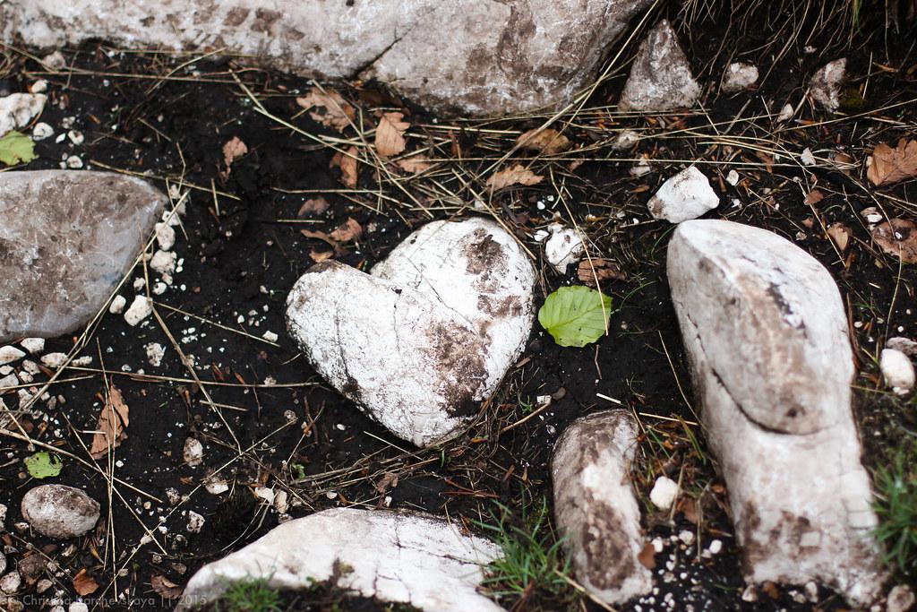 сердце из камня