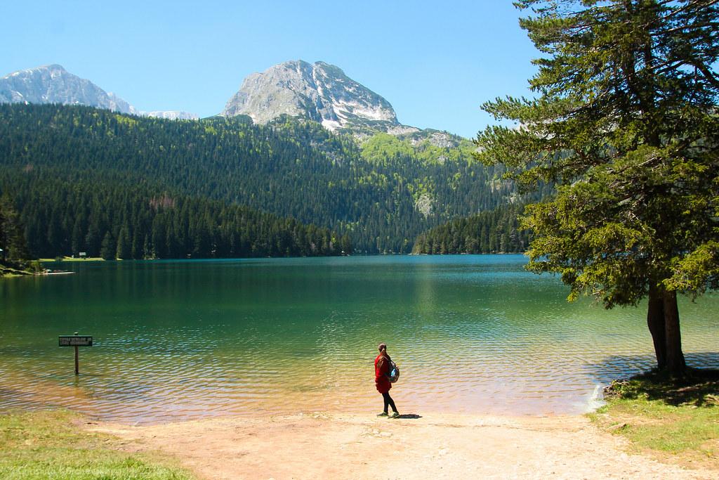 черное озеро черногория