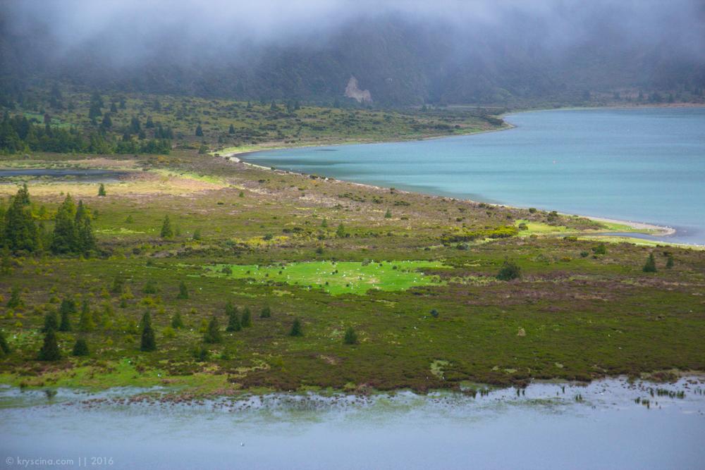 лагоа де фого озеро азорские острова