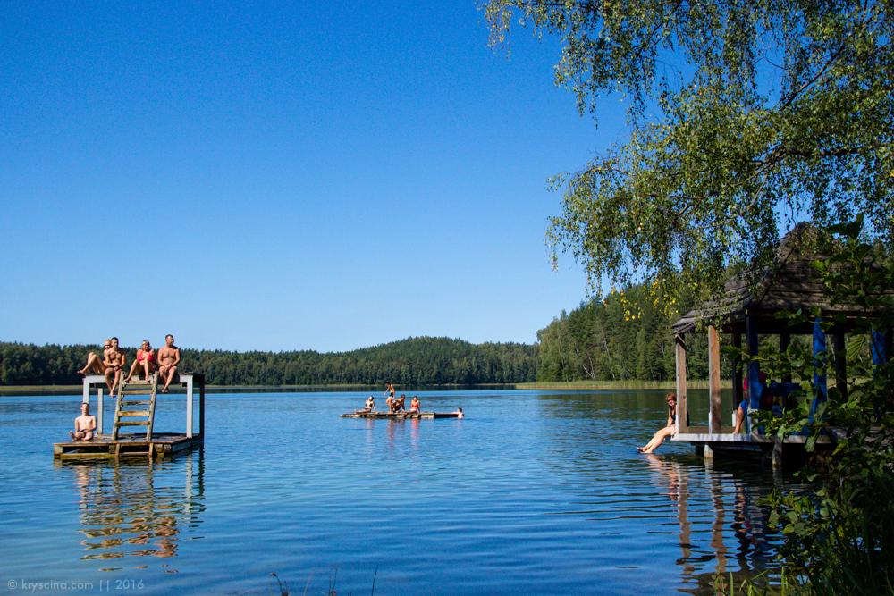 голубые озера, беларусь, путешествие, на машине с собакой