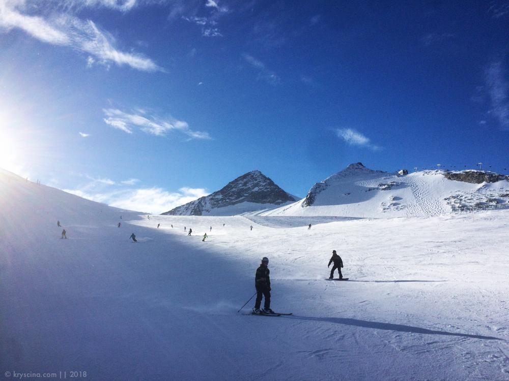 горные лыжи tux