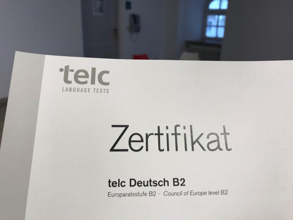 экзамен немецкого telc b2