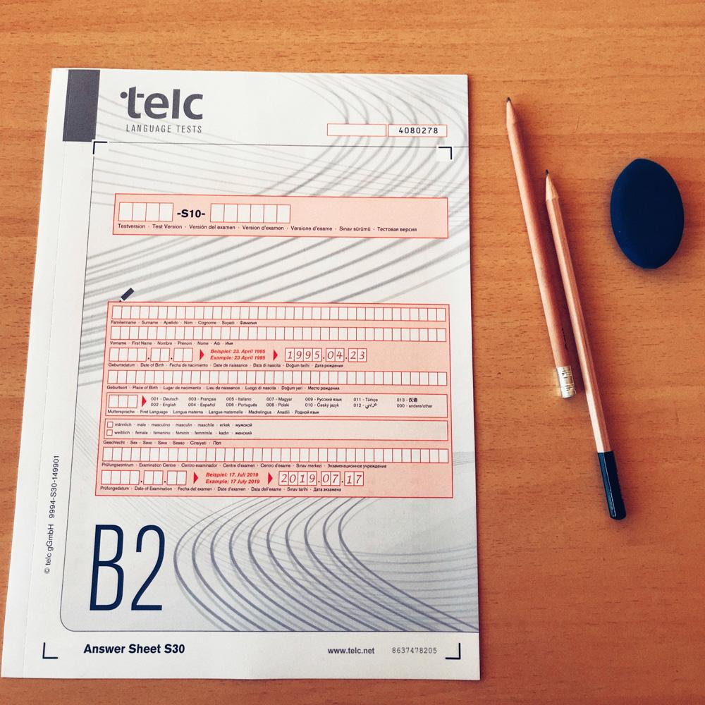 telc b2 тельк б2 экзамен