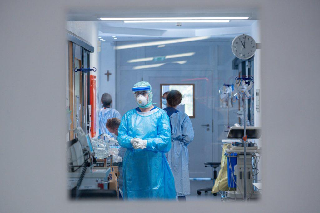 немецкая больница  коронавирус